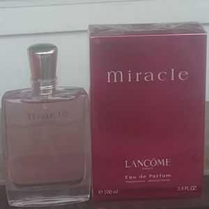 Brand New Lancôme Miracle 3.4oz Never Opened